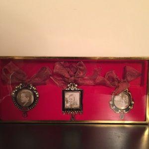 LENOX Vintage Jewel Frame Ornaments: Set Of 3